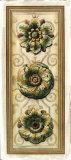 Classic Rosette Panel II Giclee Print