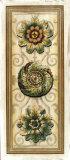 Classic Rosette Panel I Giclee Print