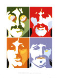 The Beatles - Sea Of Science Prints