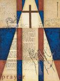 Die Kraft des GebetsI (englischer Text) Kunstdrucke von William Verner