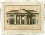 Richardson Archictecture II Premium Giclee Print by George Richardson