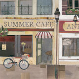 Summer Cafe Print by Katherine &amp; Elizabeth Pope