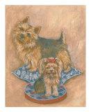 Terriers Print by Carol Ican