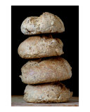 Organic whole grain bread staple Photographic Print by Frank Tschakert