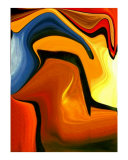 Colorful Abstract 59 Photographic Print by Teo Alfonso