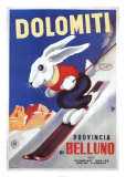 Dolomiti Posters by Sabi 