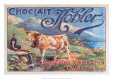 Chocolat Kohler Plakaty