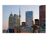 Toronto Cityscape at Dusk Photographic Print by Andrew Rubtsov
