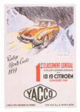 Rallye Monte Carlo, 1959 Kunst von Geo Ham