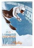 Campionati Italiani Assoluti Affiches par Franz Lenhart