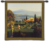 Villa d'Orcia Wall Tapestry by Max Hayslette
