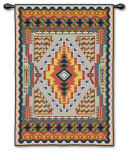 Southwestern Turquoise Wall Tapestry