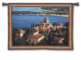 Cote d&#39;Azur Wall Tapestry by Max Hayslette