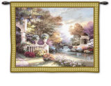 Peaceful Song Wall Tapestry by James Lee