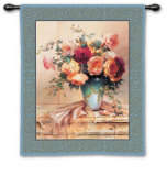 Jennies Mantle II Wall Tapestry by Jennie Tomao-Bragg