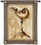 Ornamentum Umblic Naut Wall Tapestry by Paul Panossian