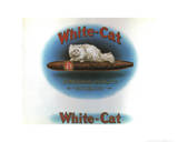 White Cat Prints