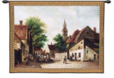 Cobblestone Way Wall Tapestry by Riccardo Bianchi