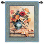 Jennies Mantle I Wall Tapestry by Jennie Tomao-Bragg