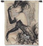 My Fair Lady I Wall Tapestry by Karen Dupré