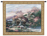 Old Mill Creek Wall Tapestry by James Lee