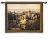 Song of Tuscany Wall Tapestry by Max Hayslette
