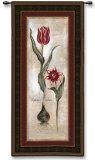 Tulipa Vidoncello IV Wall Tapestry by  Augustine (Joseph Grassia)