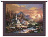 Morning of Hope Wall Tapestry by James Lee