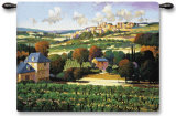 Vineyards of Provence Wall Tapestry by Max Hayslette