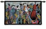 Jazz Reflections I Wall Tapestry