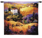 Evening Glow Wall Tapestry by Nancy O'toole
