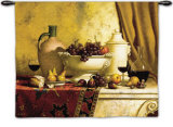 Italian Feast Wall Tapestry by Loran Speck