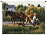 Passing Parade Wall Tapestry by Robert Duncan