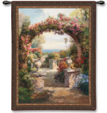 The Arch Wall Tapestry by Roberto Lombardi