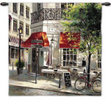 Corner Café Wall Tapestry by Brent Heighton