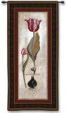 Tulipia Vidoncello III Wall Tapestry by  Augustine (Joseph Grassia)