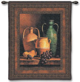 Jugs on a Ledge Wall Tapestry by Loran Speck