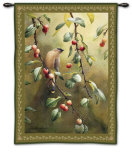 Cherry Chase Wall Tapestry by Catherine Mcclung