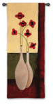 Bouquet de Six Wall Tapestry by Jocelyne Anderson-Tapp
