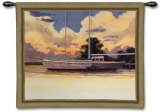 Awaiting Sail Wall Tapestry by Roger Bansemer