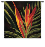 Birds of Paradise II Wall Tapestry by  St. Amanat