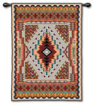 Southwestern Salmon Wall Tapestry