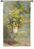 From the Garden I Wall Tapestry by Fabrice De Villeneuve