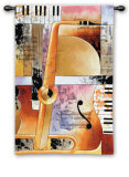 Jazz Medley II Wall Tapestry by Tom Grijalva