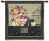 Butterfly Blossoms Wall Tapestry by Kathryn White
