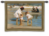 Children at Play Wall Tapestry by Edward Henry Potthast