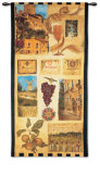 Wine Country II Wall Tapestry by Elizabeth Jardine