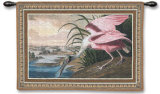 Spoonbill Pelican Wall Tapestry by John James Audubon