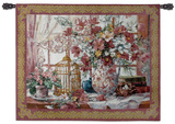 Queen Annes Lace Wall Tapestry by Barbara Mock