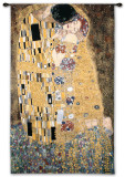 Kiss Wall Tapestry by Gustav Klimt